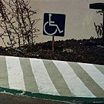 """Handicap Sign"""