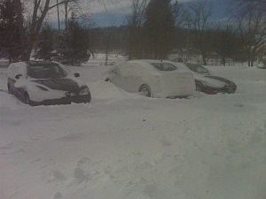 My Car Snowed In