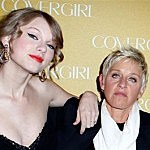 Taylor Swift With Ellen DeGeneres