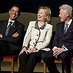 Obama With The Clintons