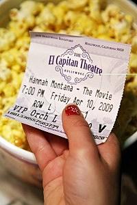 "Screening Of ""Hannah Montana The Movie"" At The El Capitan"