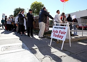 Grocery Store Holds Hiring Event, As Nat'l Jobless Rate Dips Slightly To 9 Percent