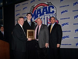 Rossiter MAAC Player of the Year