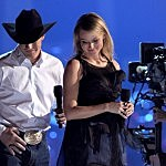 Jewel and Husband Ty Murray - American Country Awards 2010 - Show