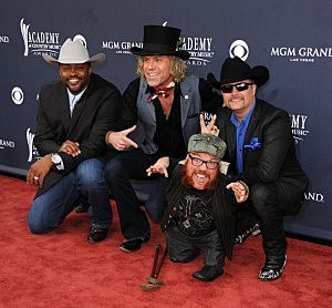 Big & Rich, Cowboy Troy and 2 Foot Fred
