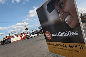 McDonald's To Hire 50,000 Employees On One Day In April