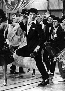 Travolta In Grease