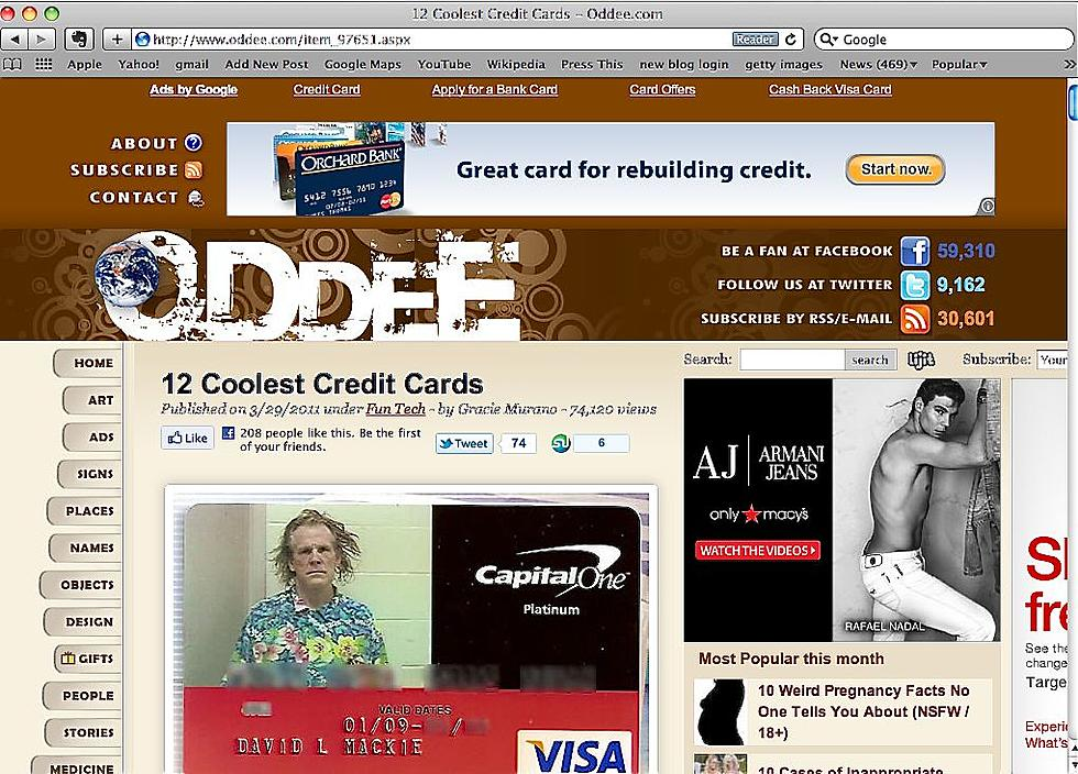 personalized credit card photos gone wild - Personalized Credit Cards
