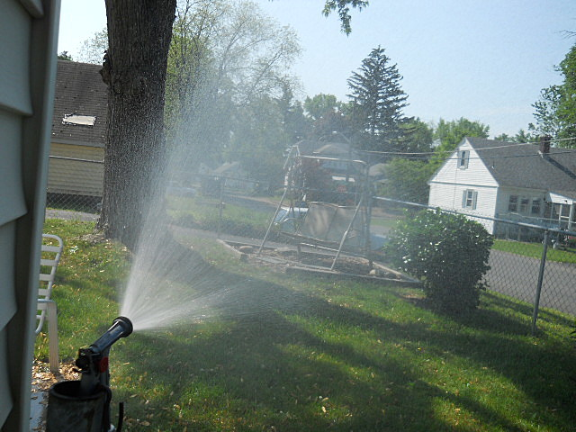Sprinkler or Hose