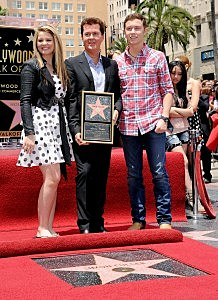 Simon Fuller Honored On The Hollywood Walk Of Fame