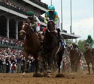 Animal Kingdom vs. Nehro in Kentucky Derby