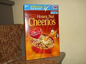 Happy Birthday Cheerios
