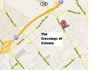 Map - Crossings Of Colonie