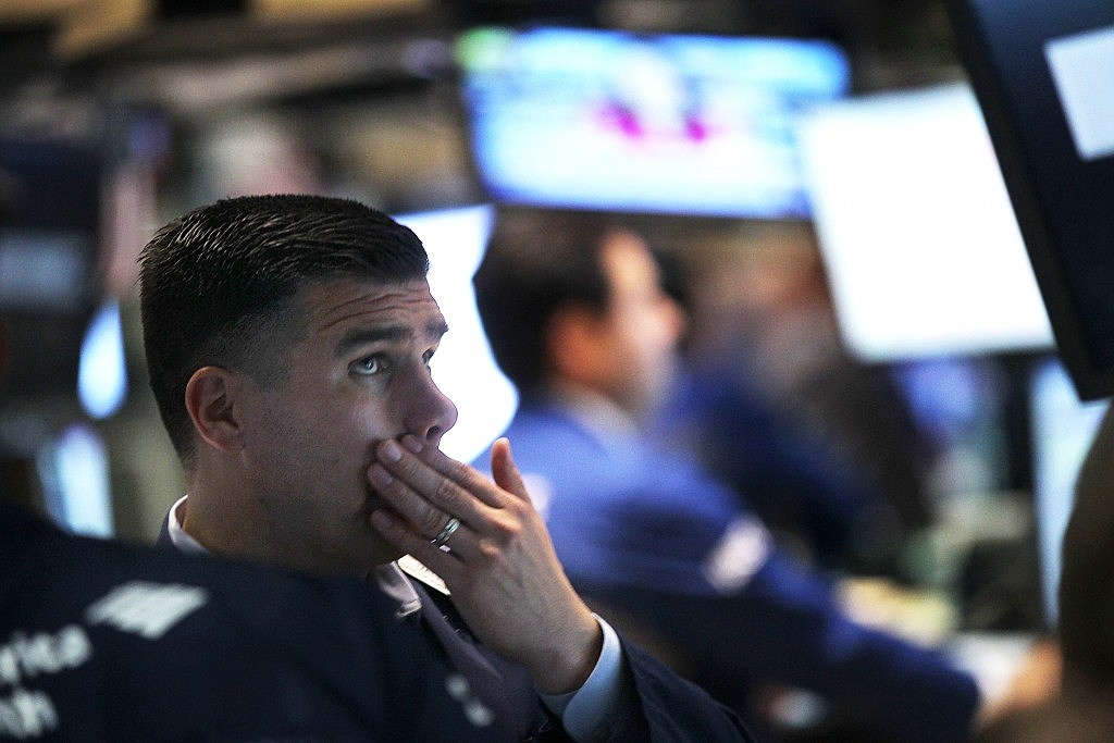 Dow Jones Industrial Average Falls Below 12,000 Mark
