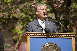 City of Albany's Mayor Jerry Jennings