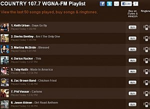 What We Played On WGNA