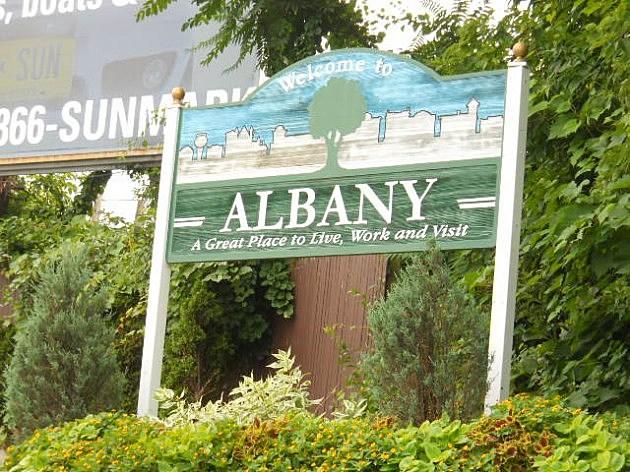 Albany N.Y. Sign