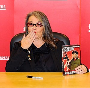 """Roseanne Barr Signs Copies Of Her Book """"Roseannearchy"""""""