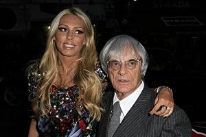 Petra & Bernie Ecclestone