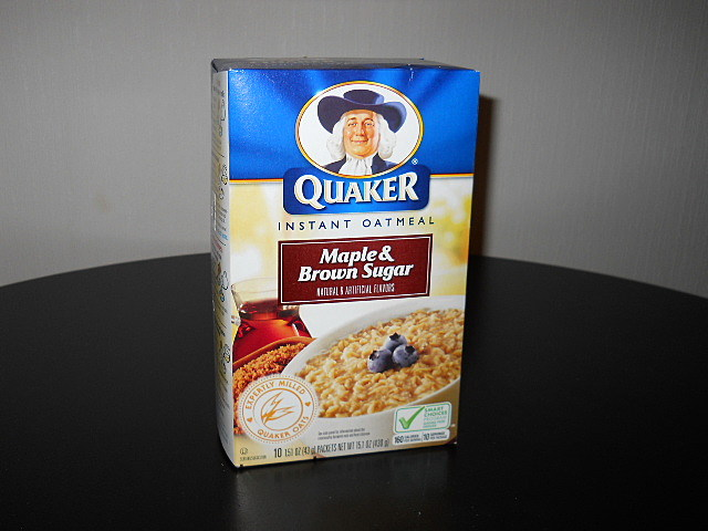 Mapl;e and Brown Sugar Instant Oat Meal