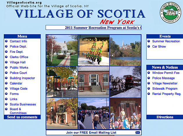 village of scotia