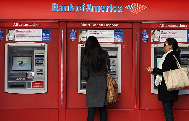 Bank Of America Posts 1.6 Billion Quarterly Loss