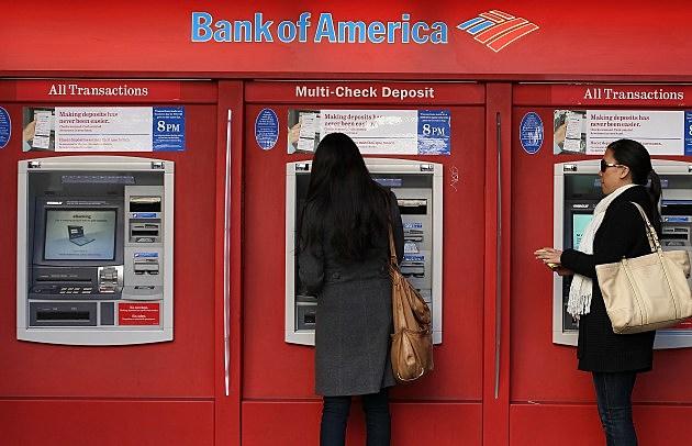 Bank Of America Posts 1.6 Billion Quarterly Loss