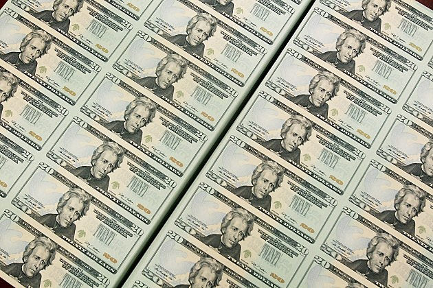 Twenty Dollar Bills Are Printed At The Bureau of Engraving and Printing