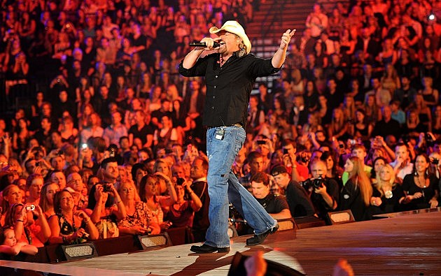 Toby Keith Performing at CMT Awards