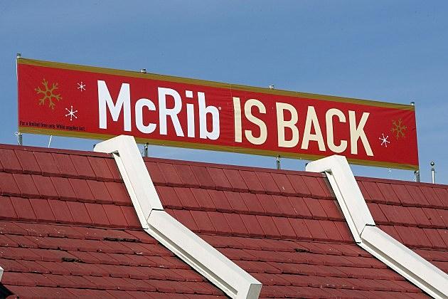 McDonald's Brings Back The McRib Sandwich
