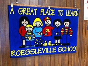 rrr Roessleville School banner