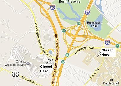 Closure Area