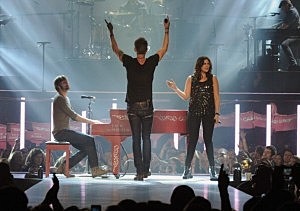 "Lady Antebellum ""Own The Night"" 2011 Tour Opening Night"