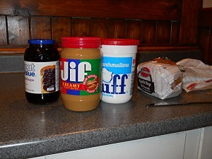 Peanut Butter, Jelly, Fluff