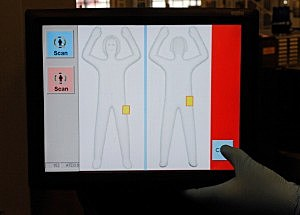 TSA Tests New Body Scanning Technology