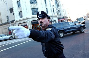 Police With A Moustache