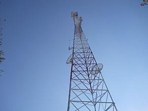 WGNA Transmitting Tower In The Helderbergs