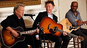 President And First Lady Hosts Country Music Performers At White House