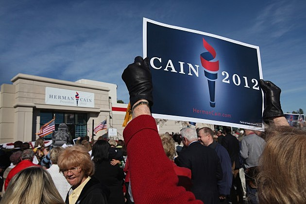 GOP Presidential Candidate Herman Cain Suspends His Campaign
