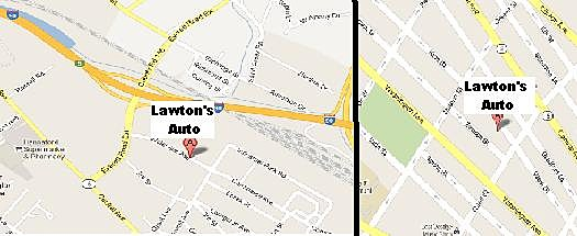 Lawton's Auto Locations