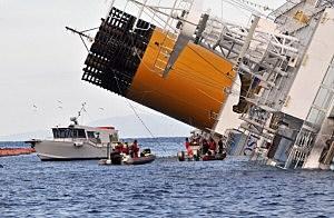 Cruise Ship Costa Concordia Runs Aground Off Giglio