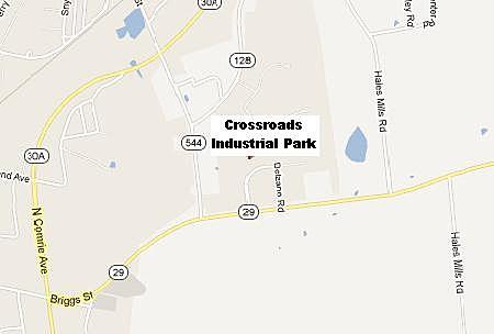 Crossroads Industrial Park In Gloversville