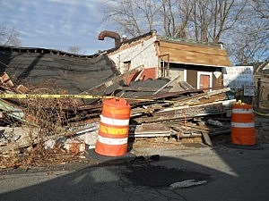 Jay Street Body Works Collapse
