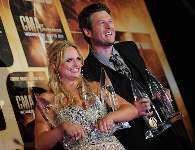 Blake Shelton And Miranda Lambert Super Bowl Duet