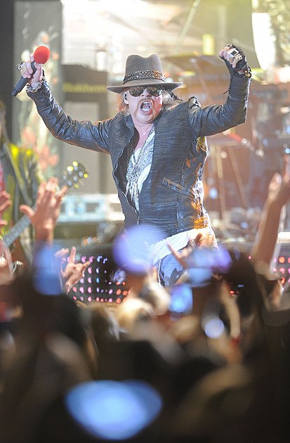 Guns N' Roses Performs At The Hollywood Palladium