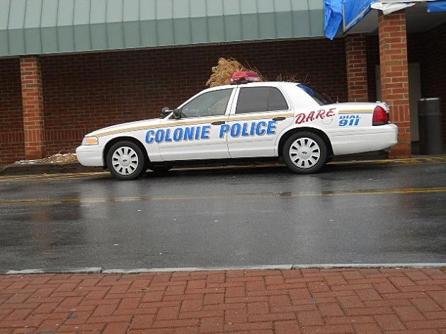 Colonie Police Car