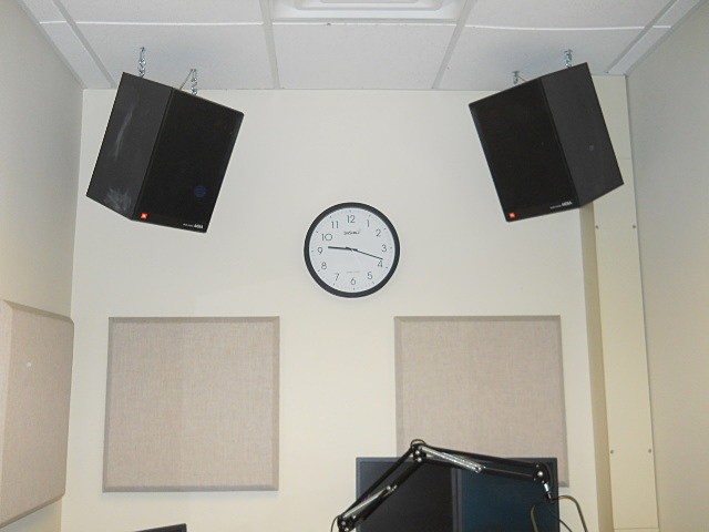 The Clock In The Studio