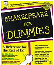 Screen Shot Shakespeare for Dummies