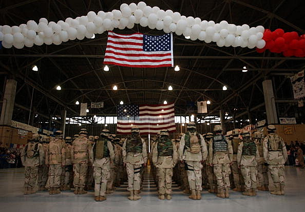 3rd Infantry Soldiers Return From Active Duty In Iraq