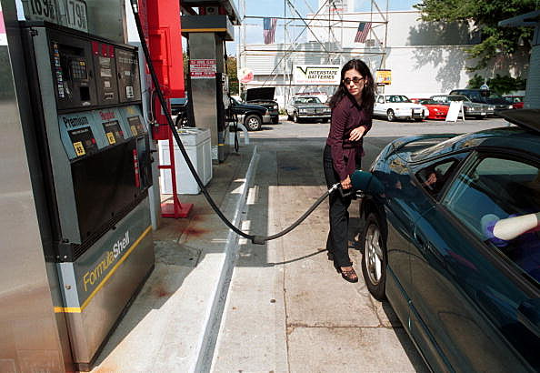 Gas Fill Up